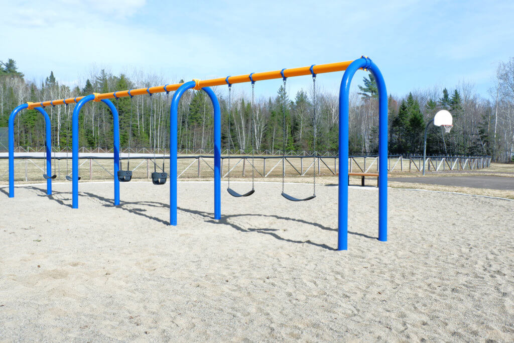 westbrook circle park community avenue playground moncton swings basketball baseball pickle planet