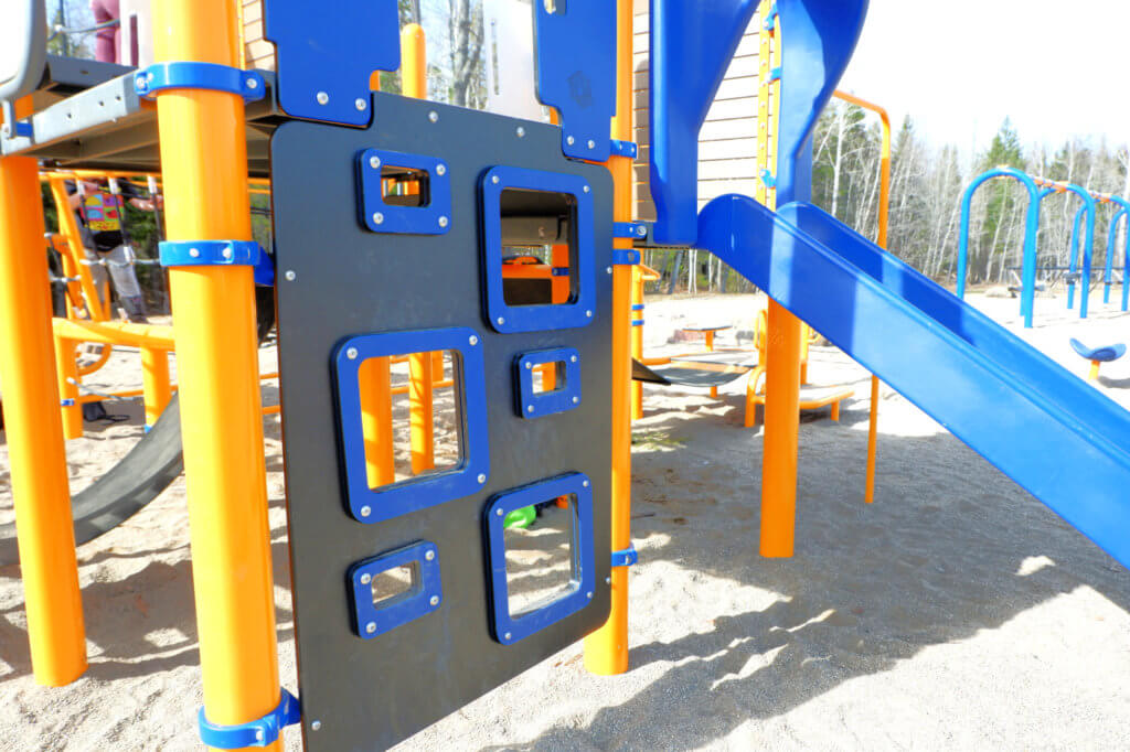 westbrook circle park community avenue playground structure new moncton pickle planet