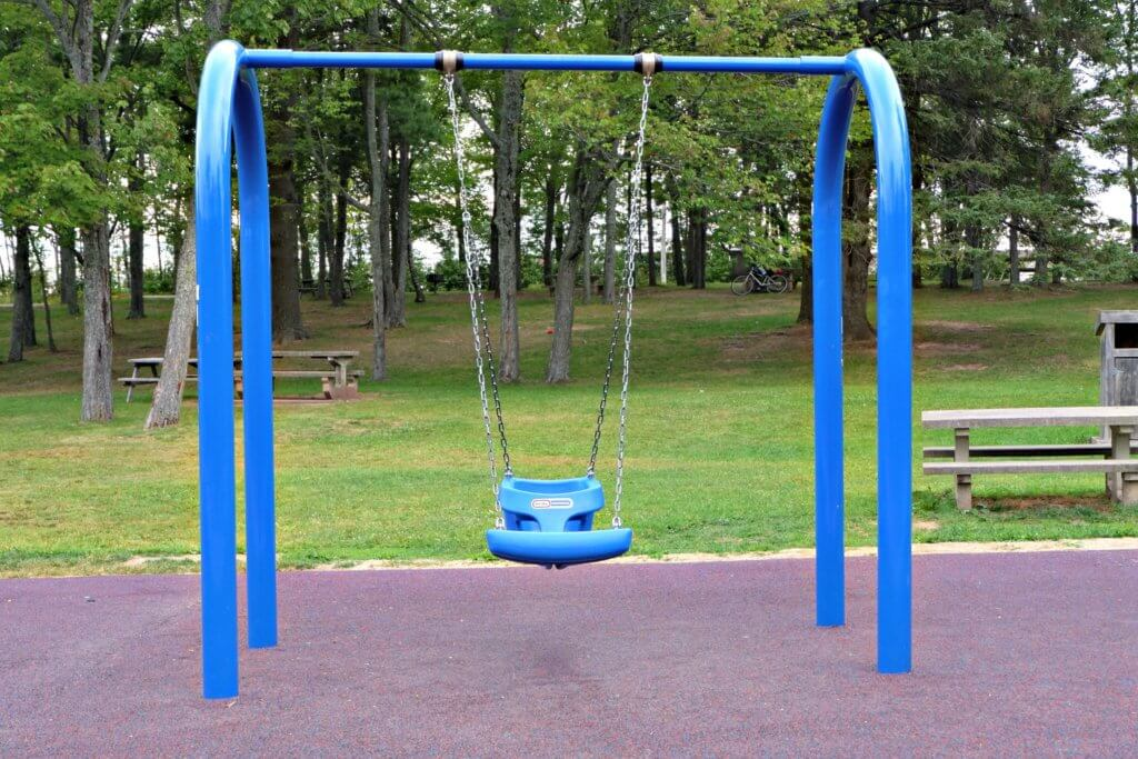 inclusive accessible playground moncton centennial park baby me swing