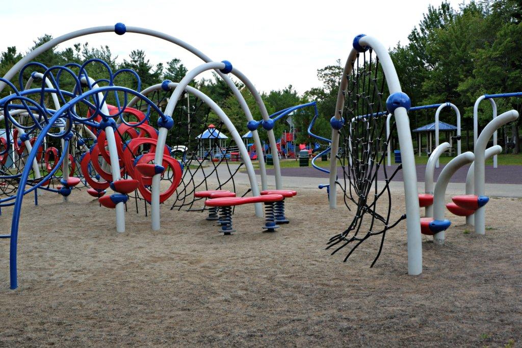 inclusive playground moncton centennial park pickle planet climbing