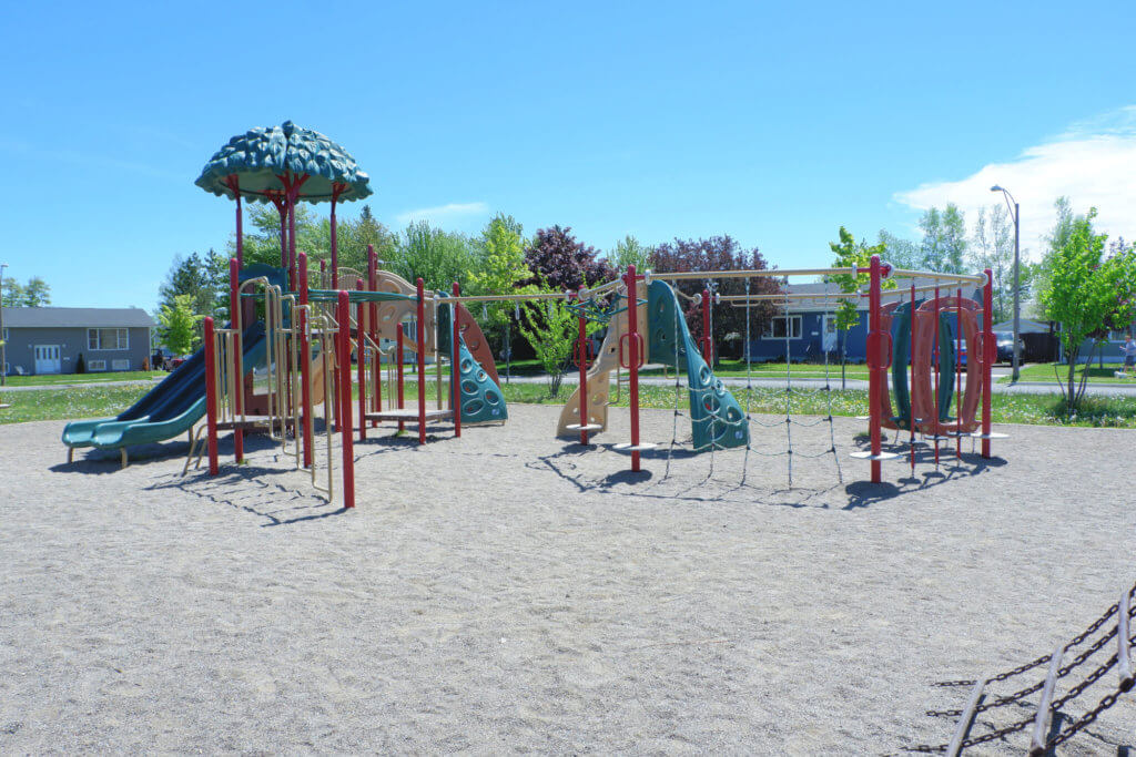 canadian heights playground park moncton north end pickle planet