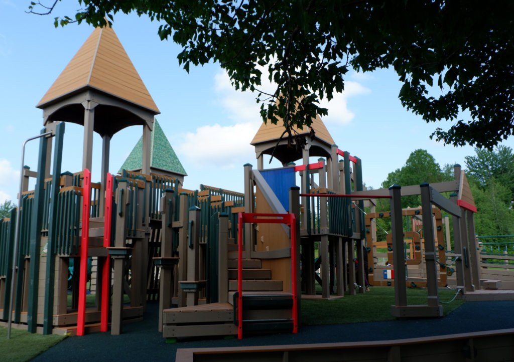 rebecca schofield all world super play park riverview moncton playground castle