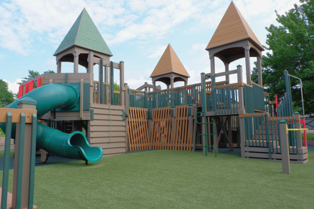 rebecca schofield all world super play park riverview moncton playground castle accessible inclusive best playgrounds new brunswick pickle planet
