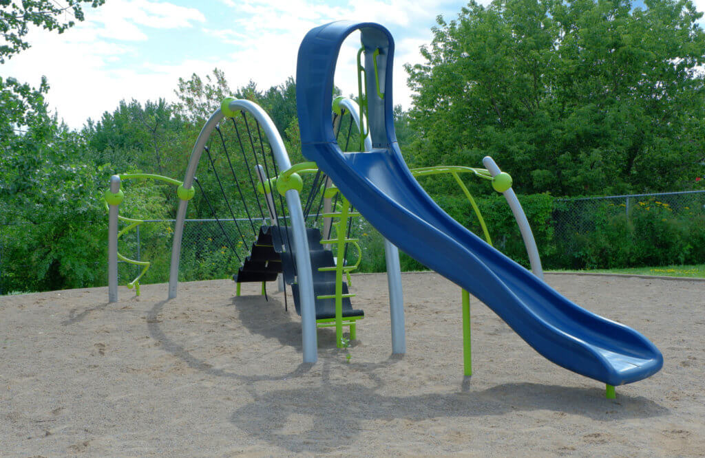 bond drive park playground moncton pickle planet climbing kids