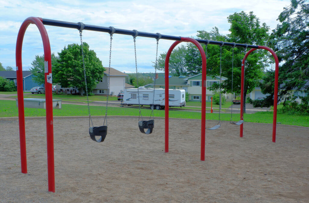 codiac heights PLAYGROUND PARK PICKLE PLANET MONCTON swings