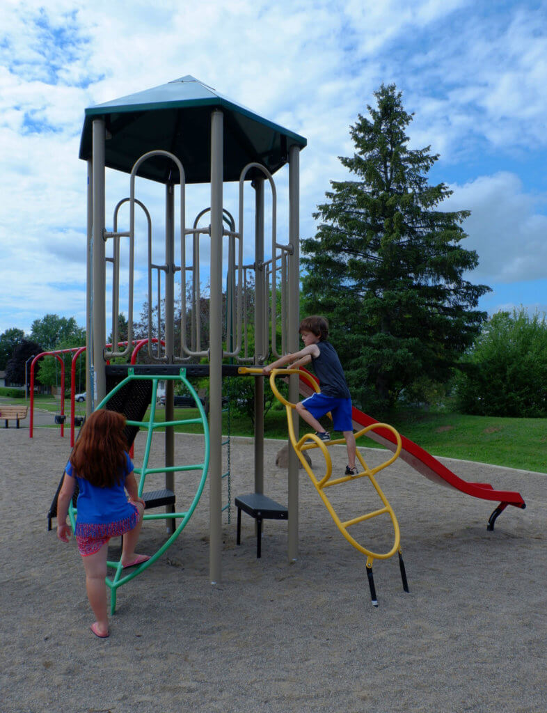 moncton valhalla playground park new brunswick pickle planet climbing quiet