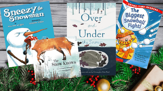 books for advent christmas countdown