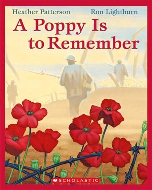 remembrance day books for young kids poppy