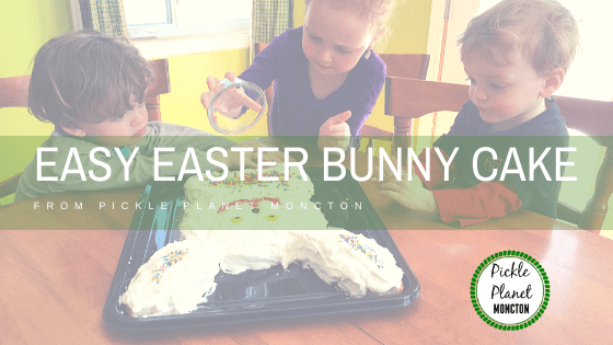 easy easter bunny cake instructions pickle planet