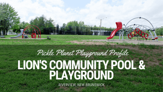 where to swim outside riverview new brunswick pool park lion's community playground