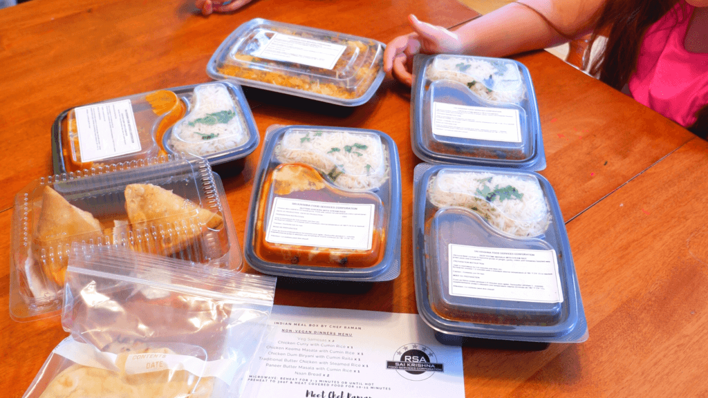 sankara market food boxes new brunswick indian take out moncton dieppe family meals
