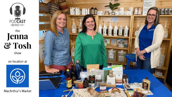 jenna tosh pickle planet podcast moncton new brunswick macarthurs market eco-friendly