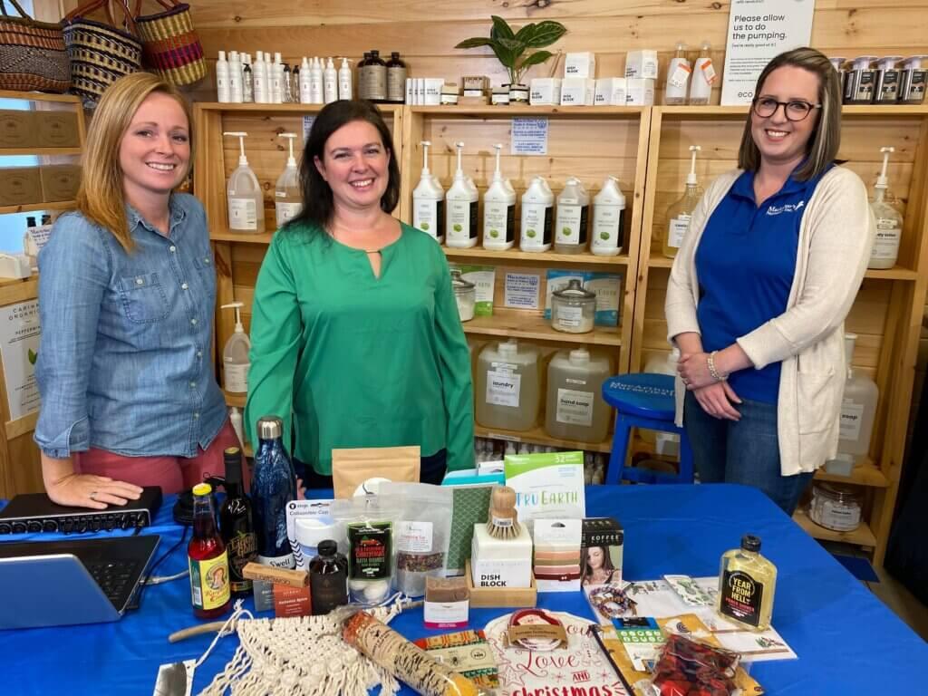 macarthur's market moncton eco-friendly podcast brittany tosh jenna