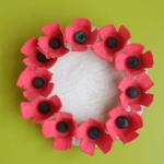 remembrance day crafts kids preschool november pickle planet diy poppy wreath