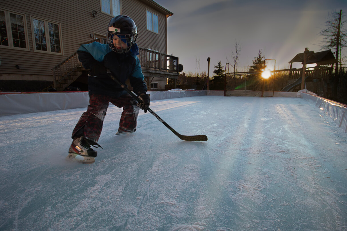 backyard skating rink tips how to build moncton riverview dieppe pickle planet
