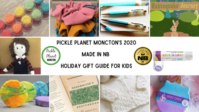 local gift ideas kids babies tweens teens new brunswick pickle planet moncton
