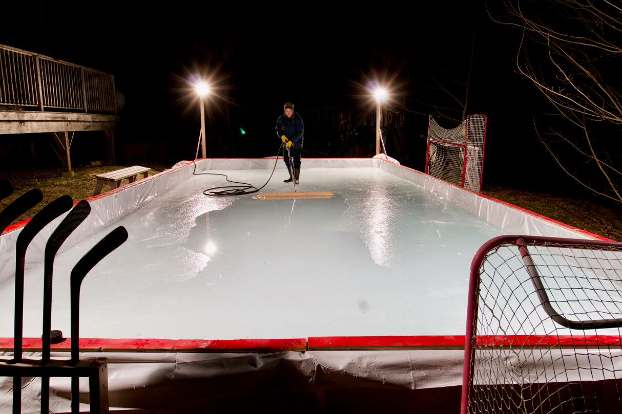 how to build a backyard skating rink moncton dieppe riverview new brunswick pickle planet