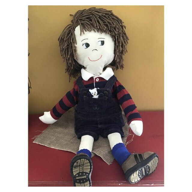new brunswick made gifts for kids pickle planet handmade doll