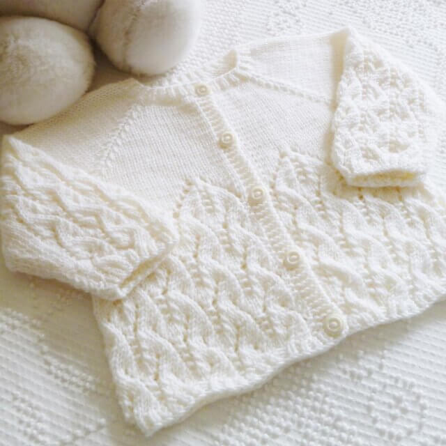 new brunswick made gifts for kids pickle planet lace baby cardigan