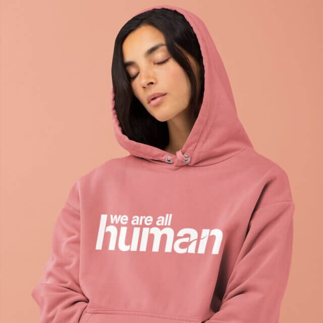 new brunswick made gifts for kids pickle planet we are all human hoodie
