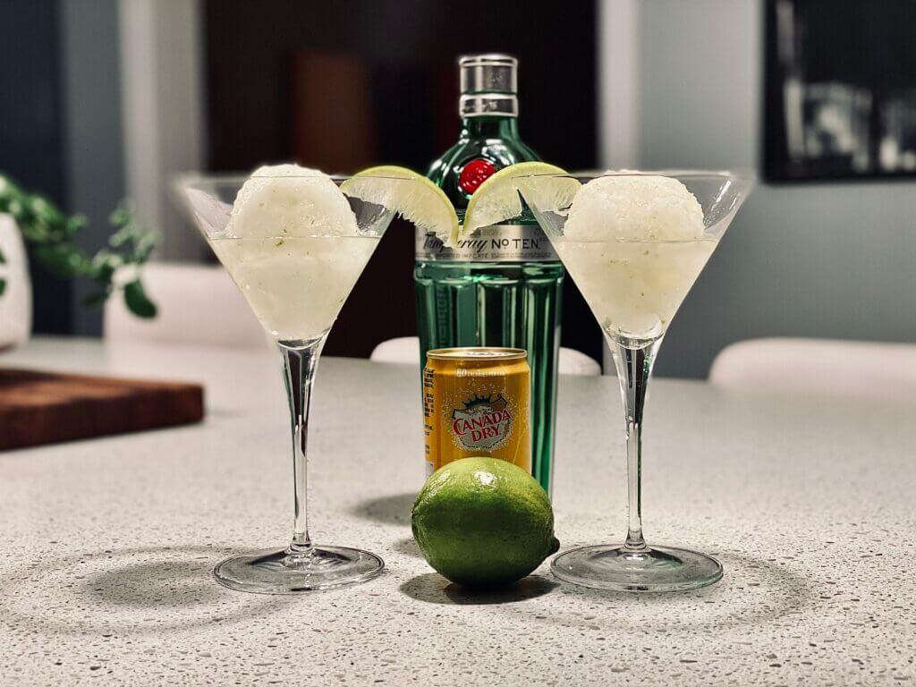 Gin Snowcone Recipe Christmas Cocktail Cape Breton Slush