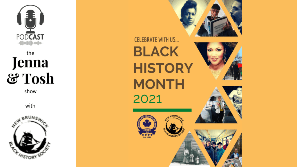 black history month 2021 poster podcast pickle planet