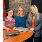 shebuilds owner donna ferguson and program coordinator chrissy guitard join jenna and tosh on the pickle planet podcast to talk about women in trades in new brunswick