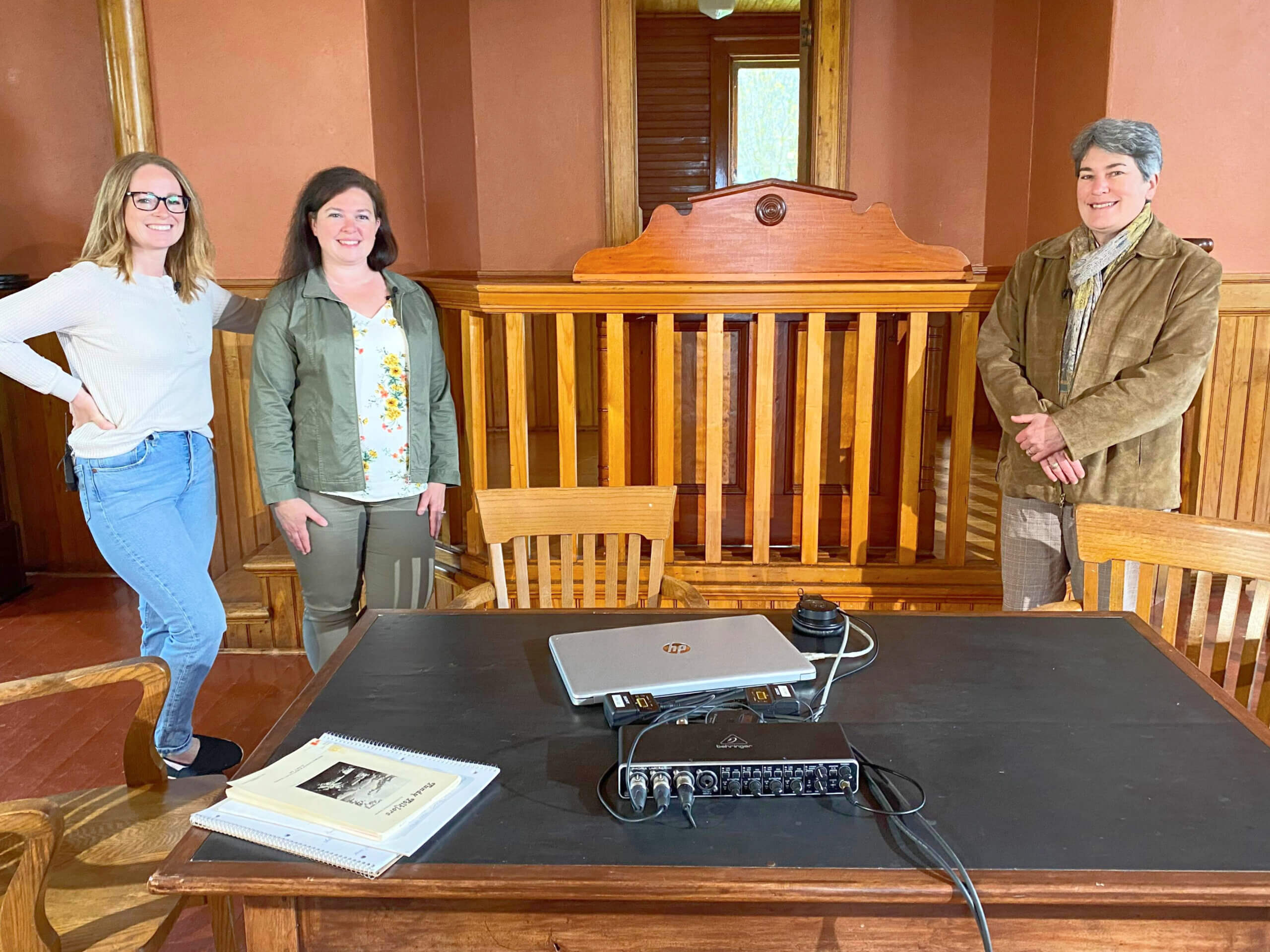 pickle planet podcast inside albert county museum court house built by watson reid
