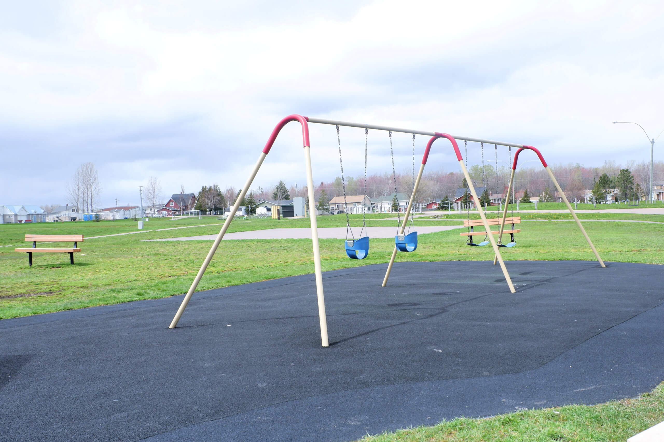 playground PICKLE PLANET MONCTON dover park dieppe places to learn to ride a bike practice scooter swings soccer