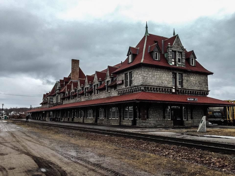 mcadam railway station new brunswick