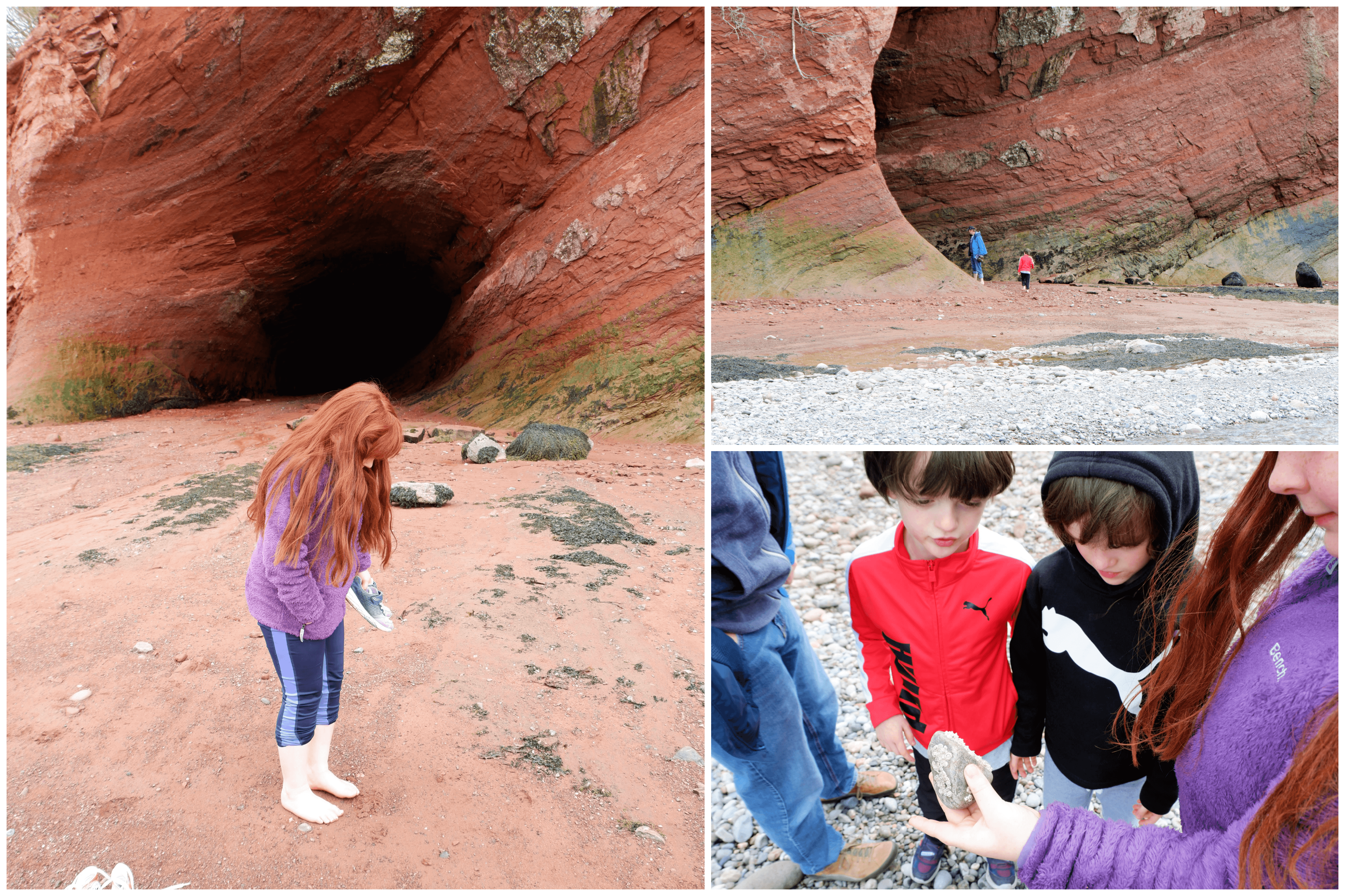 explore st martin's sea caves things to do with kids in new brunswick ideas staycation