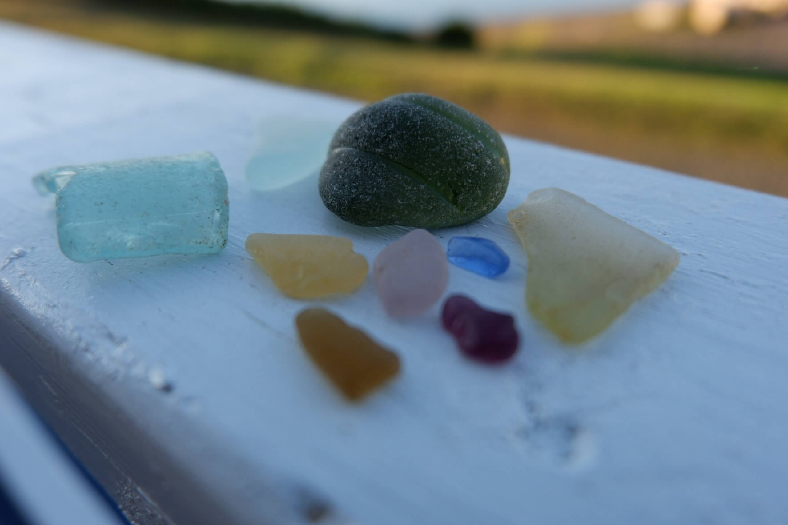 rare beach glass colours campobello island new brunswick things to do with the kids this summer pickle planet pollock cove