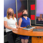 podcast tv show hosts tosh taylor jenna morton with thermography clinic nb owner kathryn speer