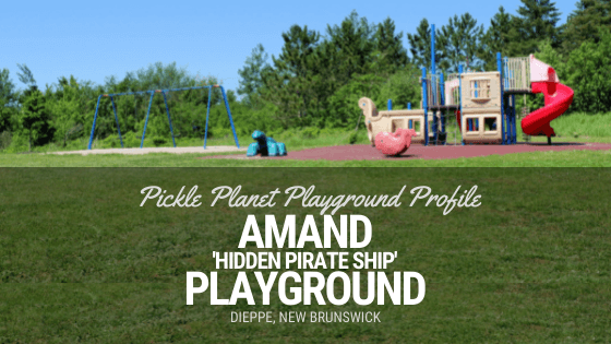 playground PICKLE PLANET MONCTON amand dieppe riverfront trail