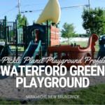 pirate ship playground waterford green miramichi playground