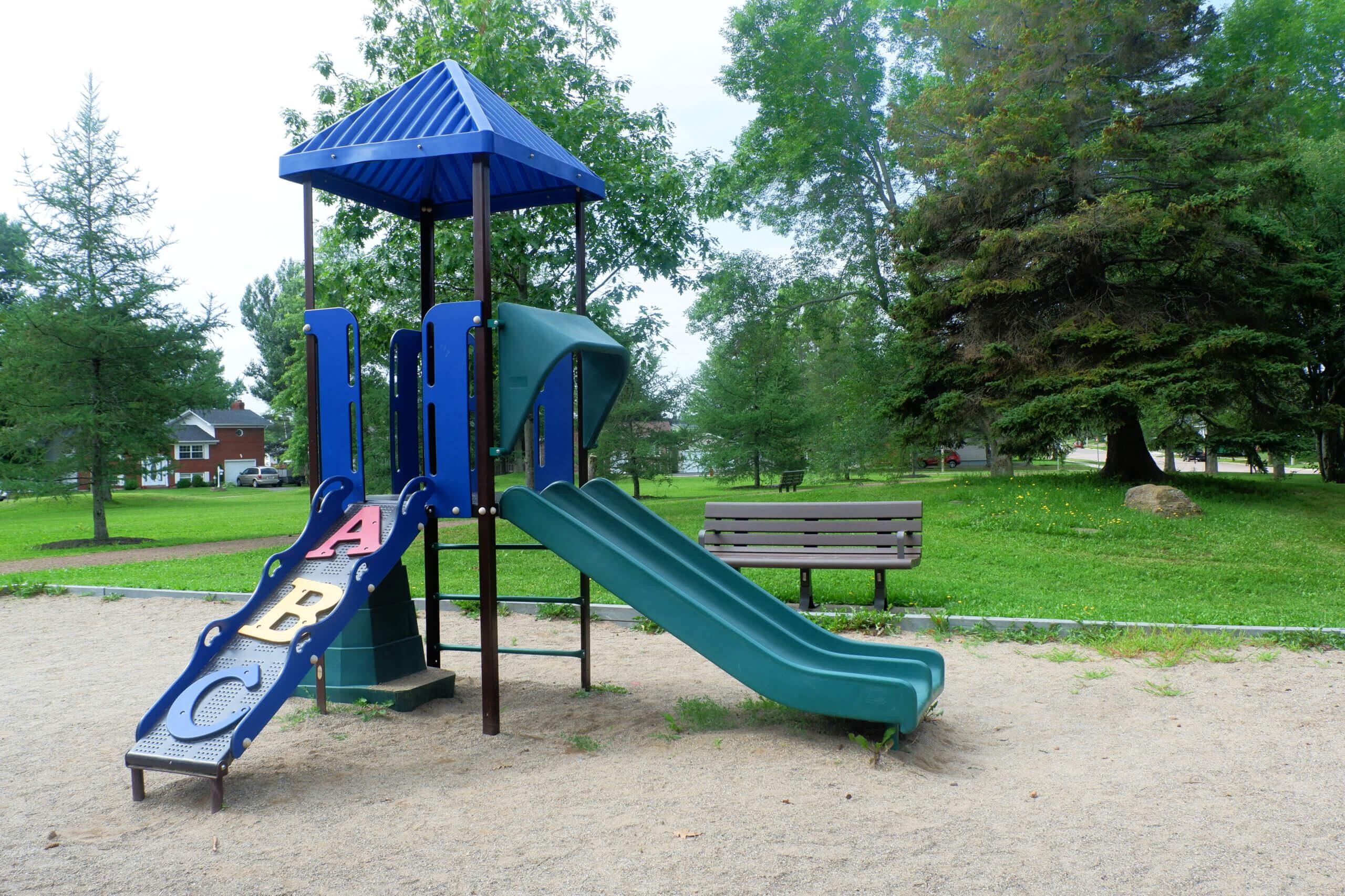 hildegard park pickle planet playground moncton toddler friendly