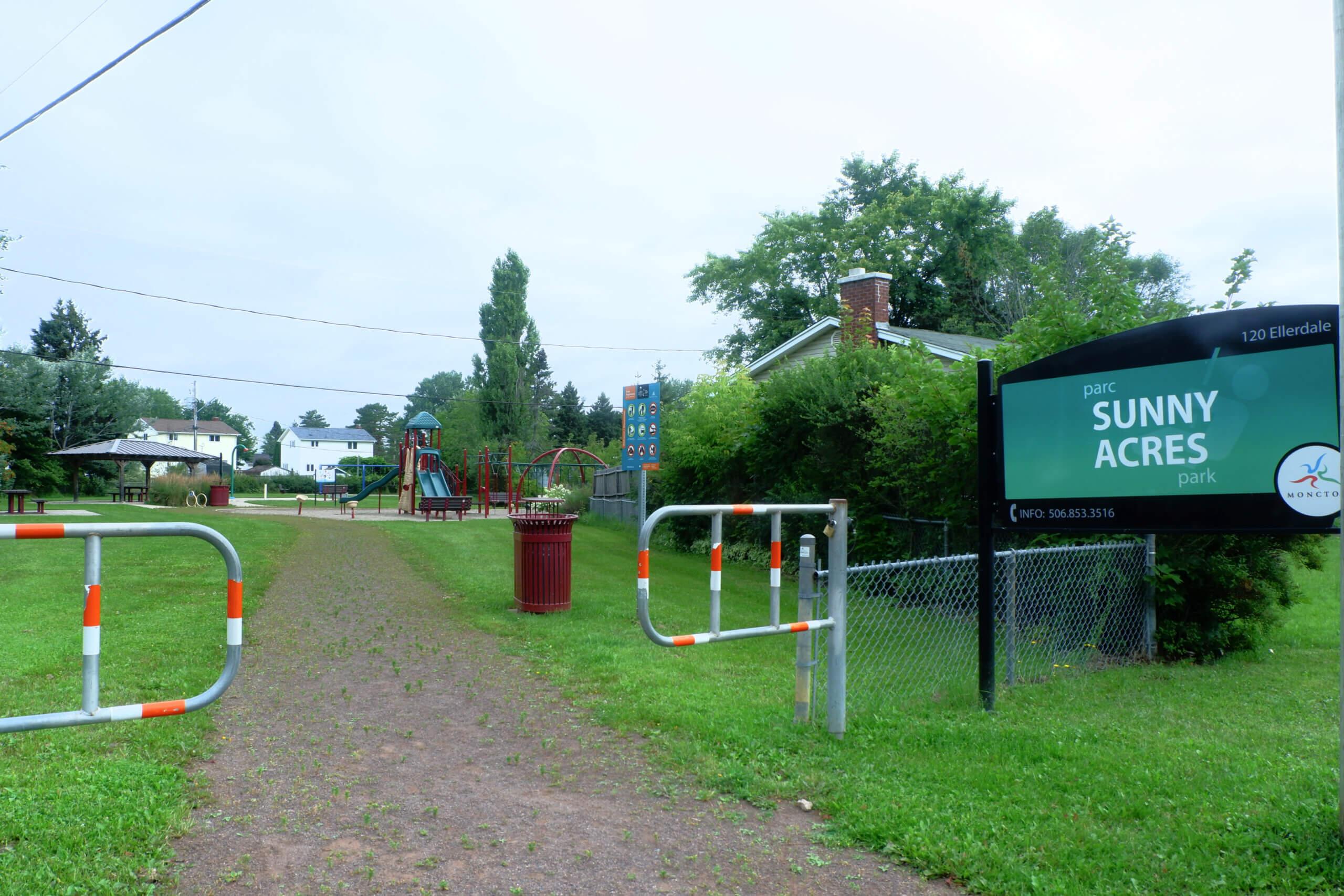 sunny acres park playground moncton pickle planet elmwood estates