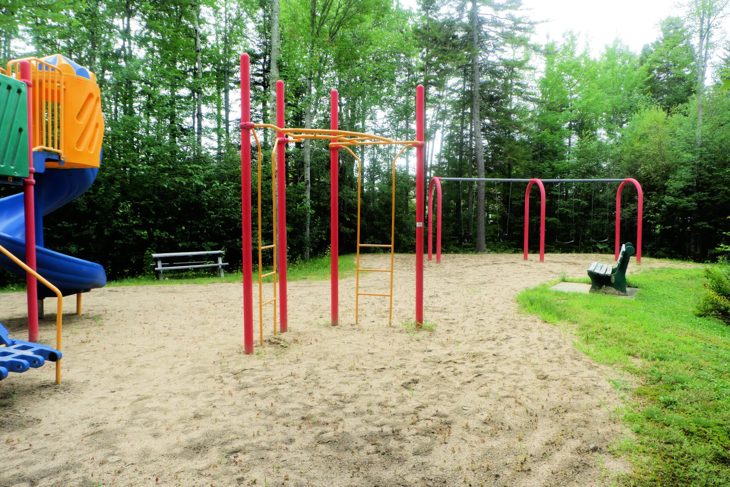 camelot estates playground park pickle planet moncton climbing structures