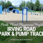 playground PICKLE PLANET MONCTON where to find pump track parkour riverview moncton dieppe